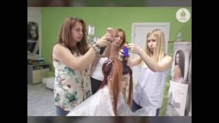 Обучение 'Полировке волос' в школе студии Hair Expert