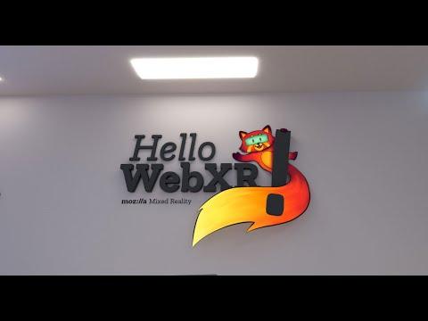 Hands-on Mozilla's Hello WebXR!