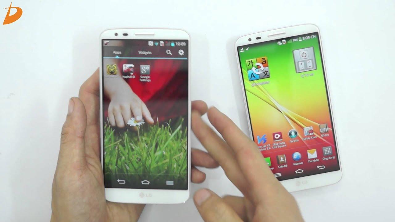 LG G2 Hàn Quốc hay LG G2 Quốc Tế | nên chọn siêu phẩm nào!