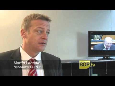 Martin Landolt zu seinem Job bei der UBS