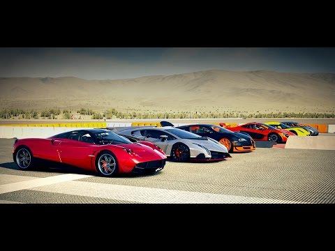 World's Greatest Drag Race! Veyron, AGERA, McLaren P1, Huayra, Veneno, Venom GT – Forza 5