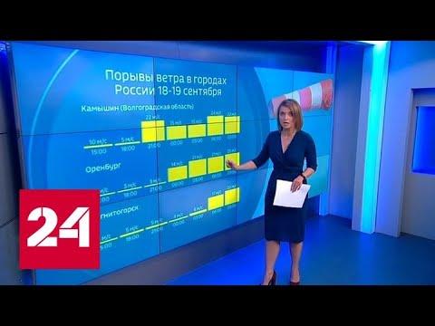 """""""Погода 24"""": погодное ненастье смещается на юг Западной Сибири - Россия 24"""