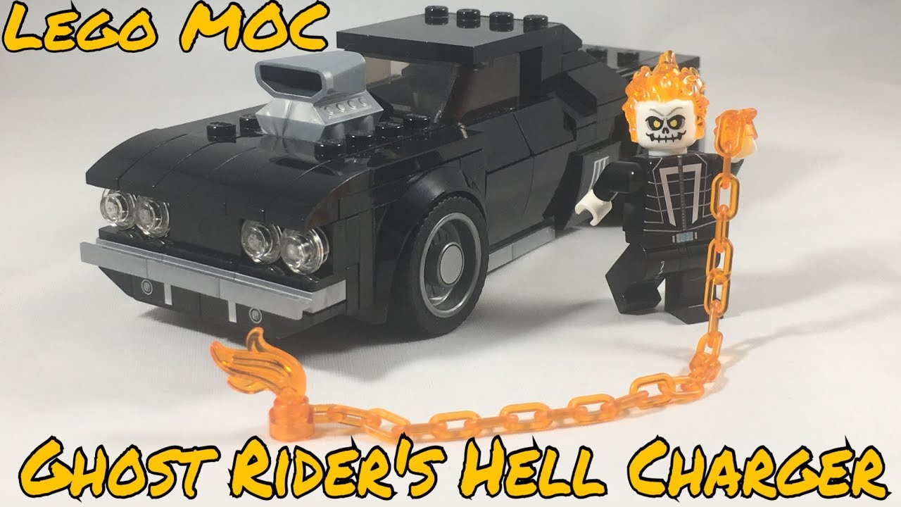 Lego MOC: Ghost Rider's 1969 Dodge Charger