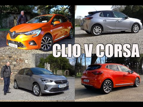 Renault Clio V Opel (Vauxhall) Corsa Review | Which Of These New Models Should You Buy?