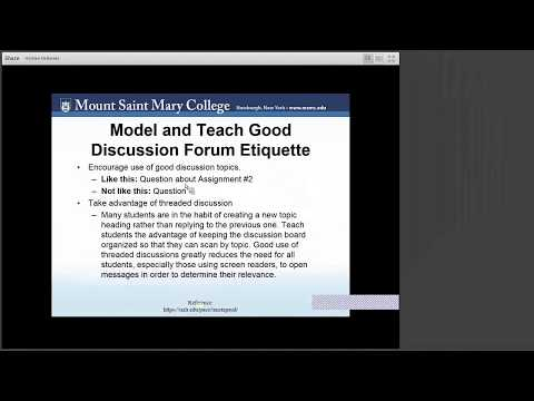 Universal Design for Learning: Course Development and Instructional Design