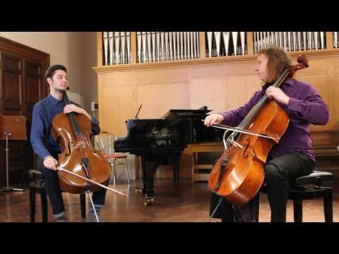 Conservatorio di Musica Santa Cecilia, Cello Master class