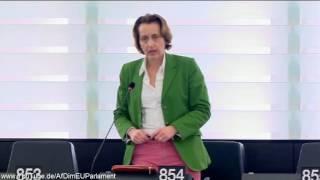 Umsetzung der Gender Ideologie im EU Parlament Beatrix von Storch AfD MEP MdEP