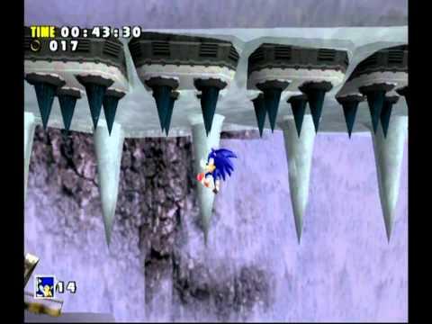 Sonic Adventure DX (GC) Sonic's Story Part 1