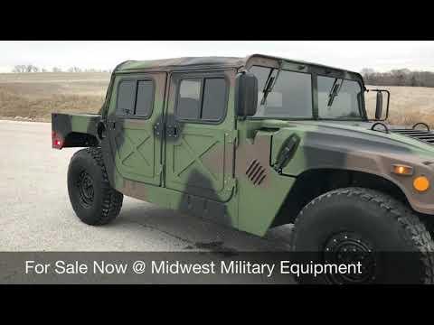 Street Legal AM General M998 Military Hummer H1 Humvee Hard Doors