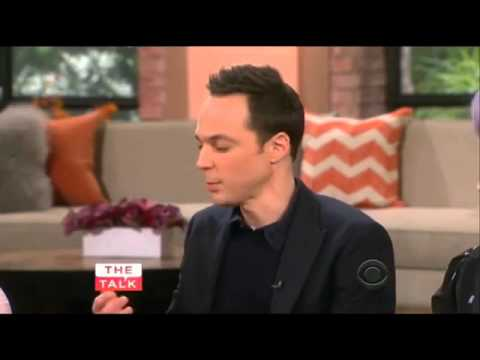 Jim Parsons opens up about his friendship with Rihanna on The Talk (Mar 27th, 2015)