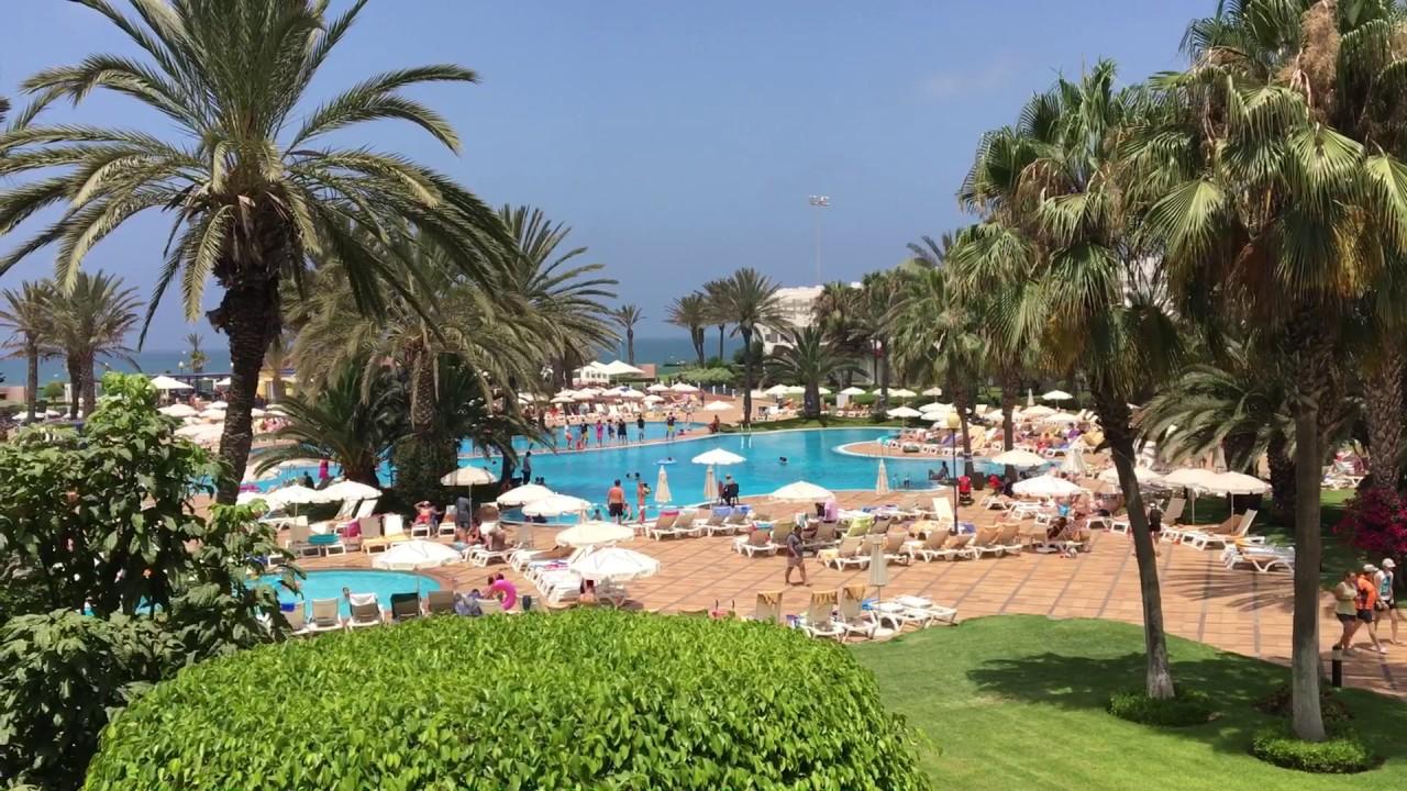 Iberostar Founty Beach 2017 Agadir Morocco Youtube