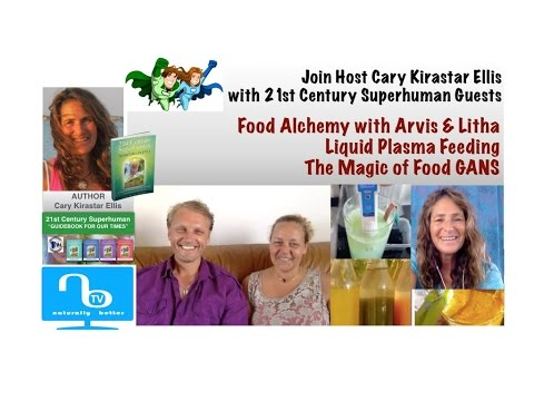 How to Make Food GANS with Arvis & Litha - 21st Century Superhuman