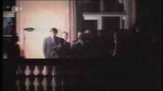 Genscher at the German Embassy in Prague 1989