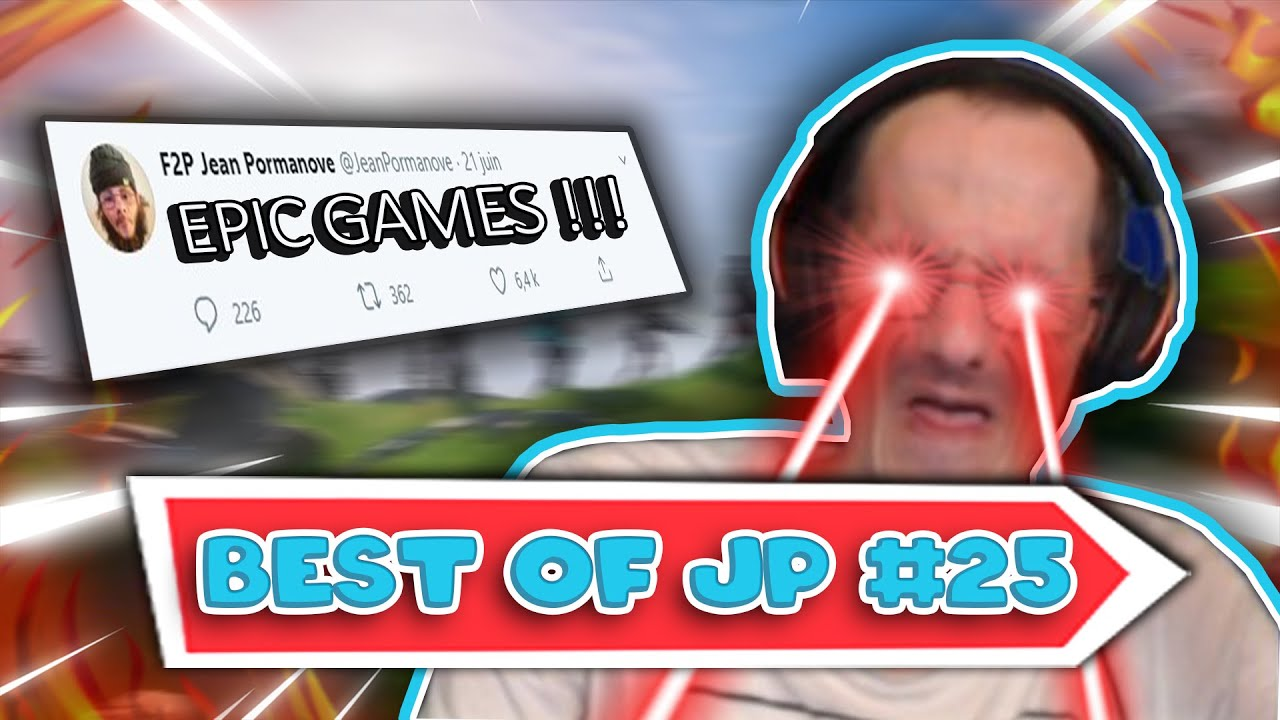 JP *DÉTESTE* la nouvelle saison de *FORTNITE* (best of Jean Pormanove #25)