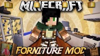 Minecraft ITA - Mod: MRCLAYFISH FORNITURE - Mobili, Elettrodomestici, TV, WC, Computer e Tanto Altro