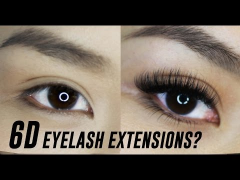 4b43539d009 3D, 4D, 5D, 6D Eyelash Extensions- What are they? | TINA TRIES IT - YouTube