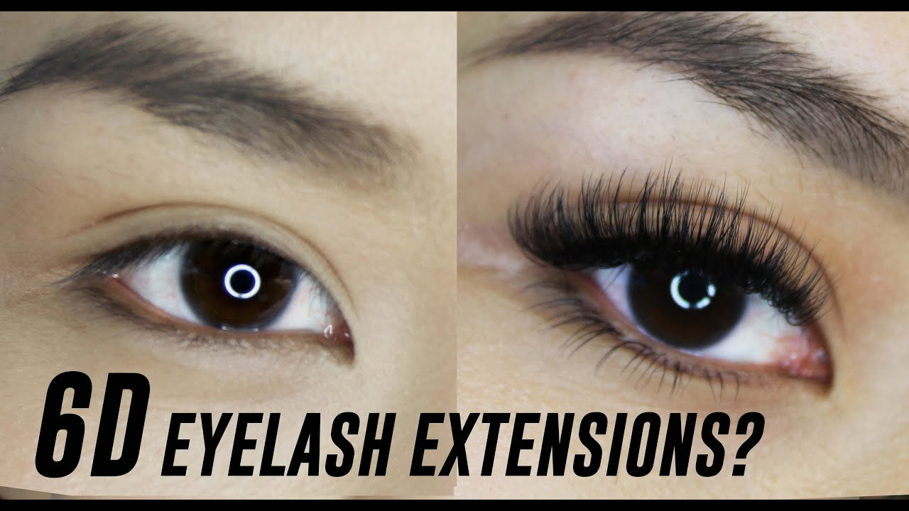 26dfc006620 3D, 4D, 5D, 6D Eyelash Extensions- What are they? | TINA TRIES IT ...