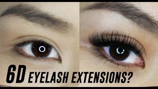 6D Eyelash Extensions- What are they? | TINA TRIES IT
