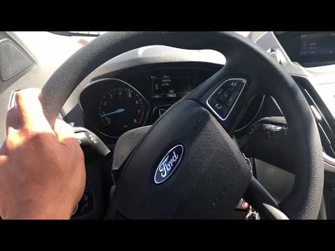FORD ESCAPE - HOW TO OPEN HOOD