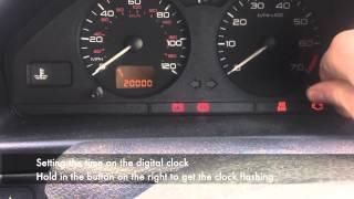 Peugeot 106 Service Interval Reset