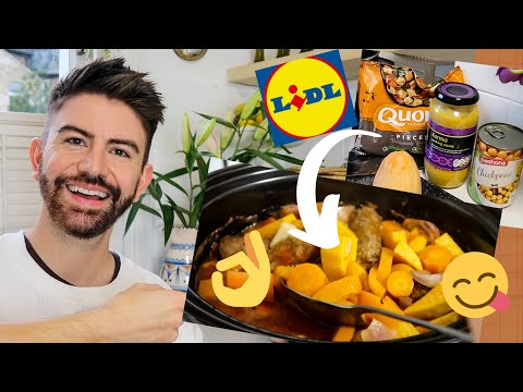 EASY & LAZY LIDL SLOW COOKER COSY MEALS ON A BUDGET | MR CARRINGTON
