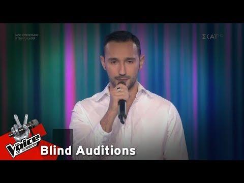 Θέμης Αγγελίδης – Chasing Cars | 7o Blind Audition | The Voice of Greece