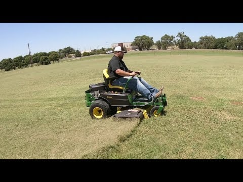 How Fast Can The John Deere Z345R ZeroTurn Mow An Acre?