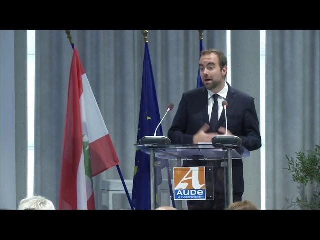 Discours de M. le Ministre Sébastien Lecornu