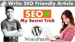 How to Write SEO Friendly Article on WordPress