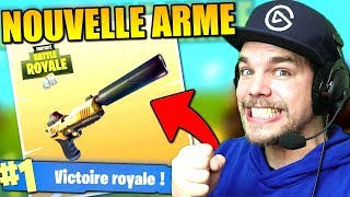 TOP 1 / NOUVELLE ARME !! (Fortnite: Battle Royale)