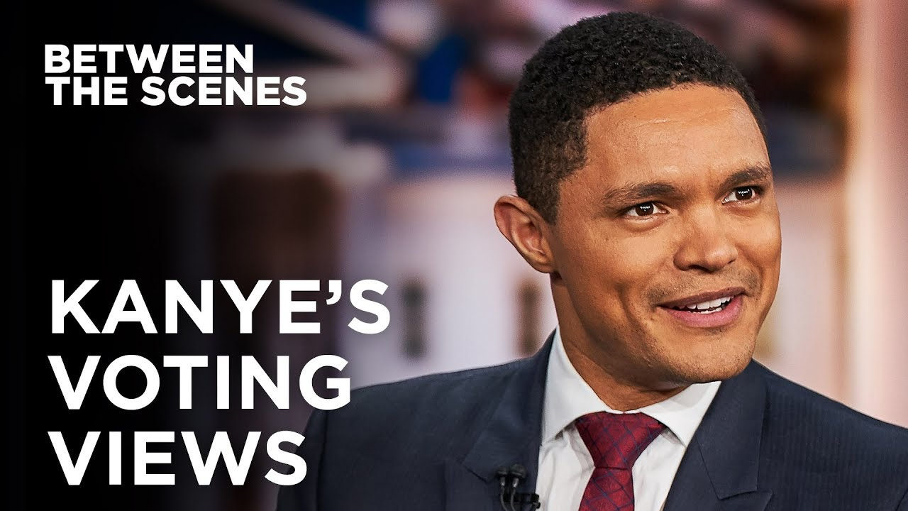 What Kanye's Missing On Black Voters - Between The Scenes   The Daily Show