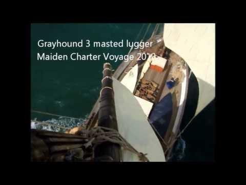 Grayhound Sailing Lugger from Aloft