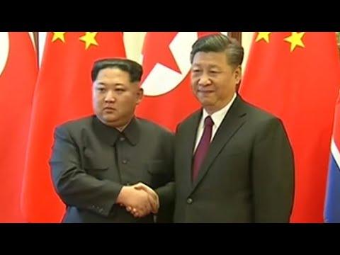North Korea's Kim Jong-un meets with China's Xi Jinping
