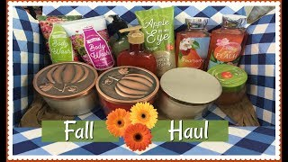 BATH AND BODY WORKS | Fall Haul 2017