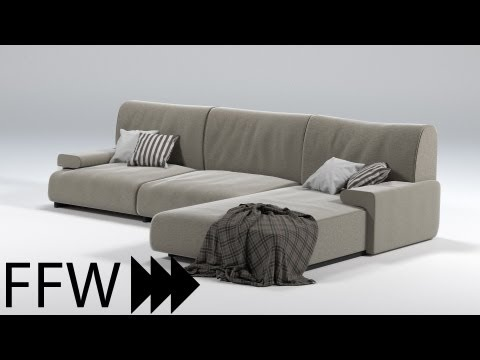 Speed Modelling a Couch in Blender