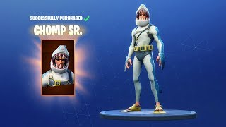 NEW FORTNITE SKIN IS MADE FOR ME!! ( CHOMP SR. )