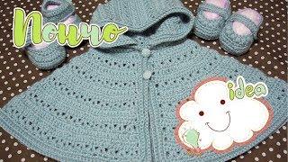 описание вязания пончо для девочек