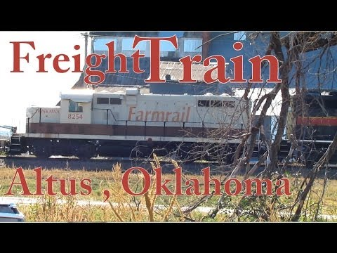 Freight Train  Altus,