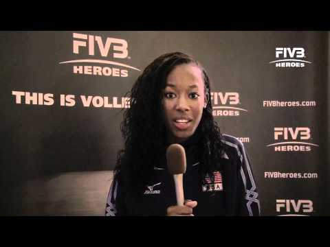 Interview with Destinee Hooker at the World Grand Prix in Macau 2011