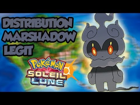 LIVE DISTRIBUTION DE MARSHADOW STRATS LVL 100 ! 6IV ! POKEMO