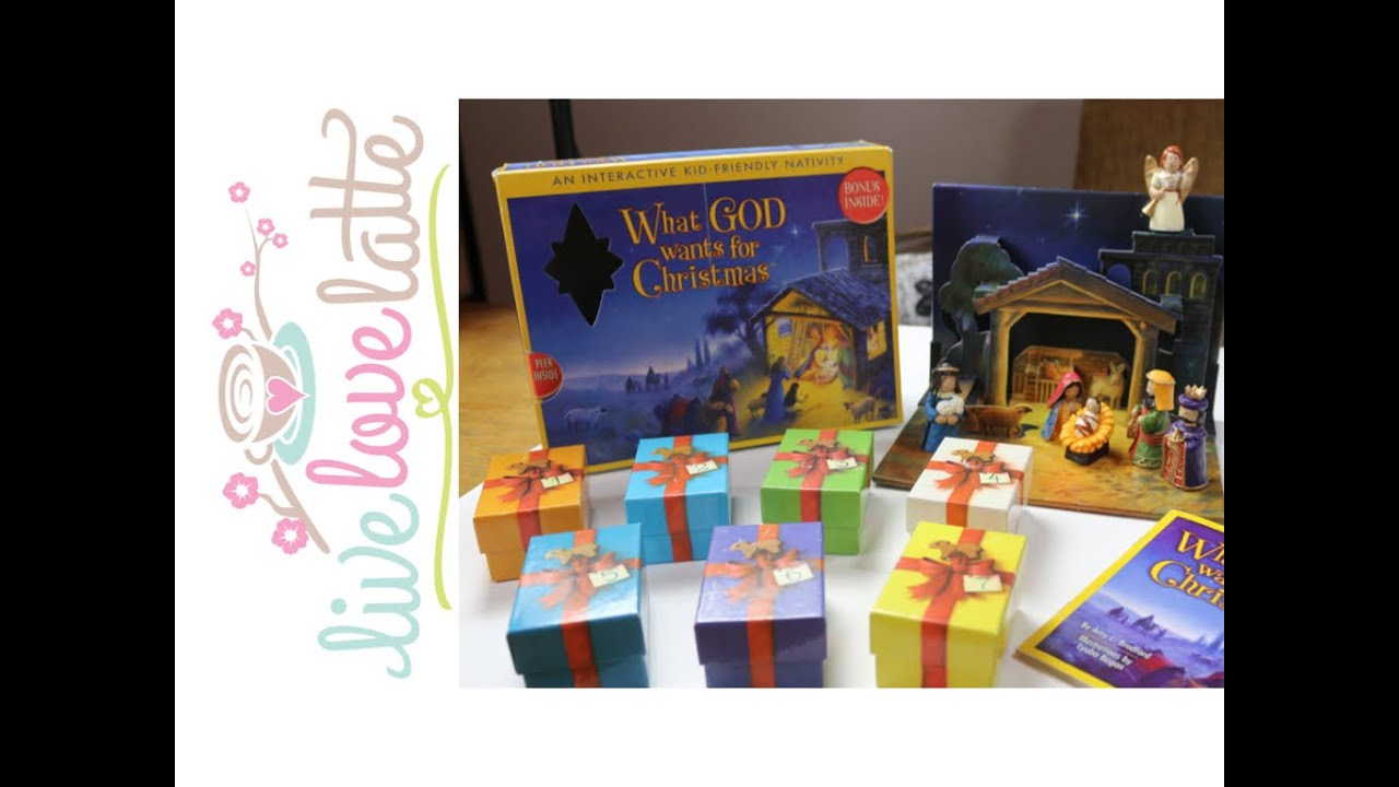What God Wants for Christmas (a kid-friendly interactive nativity ...