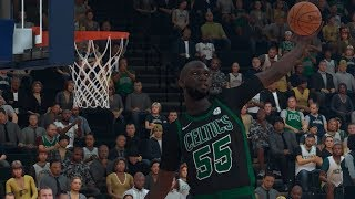 NBA 2K19 Tacko Fall My Career Ep. 7 - Crazy Lobs