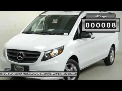 2017 mercedes benz metris cargo van minnetonka minneapolis for Mercedes benz bloomington mn