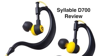 syllable D700 Sports in ear headphones review.