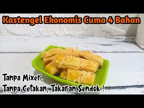 KASTENGEL EKONOMIS CUMA 4 BAHAN ! TANPA CETAKAN TAKARAN SENDOK ! from YouTube · Duration:  11 minutes 9 seconds