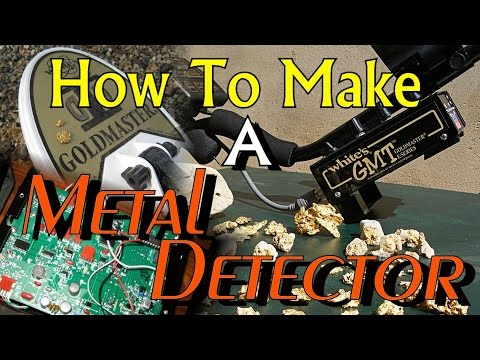 HOW TO MAKE A METAL DETECTOR !!! Inside Whites Factory. ask Jeff Williams