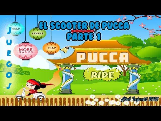 7   Juego El Scooter de Pucca ? ?? ?
