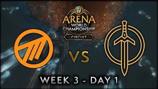 Method NA vs Golden Guardians | Week 3 Day 1 | AWC SL Circuit