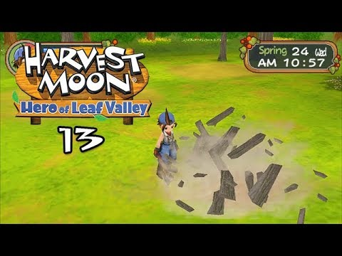 Let's Play Harvest Moon: Hero Of Leaf Valley 13: Wood