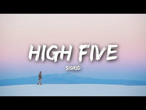 sigrid---high-five-|-lyrics-video-|-مترجمة